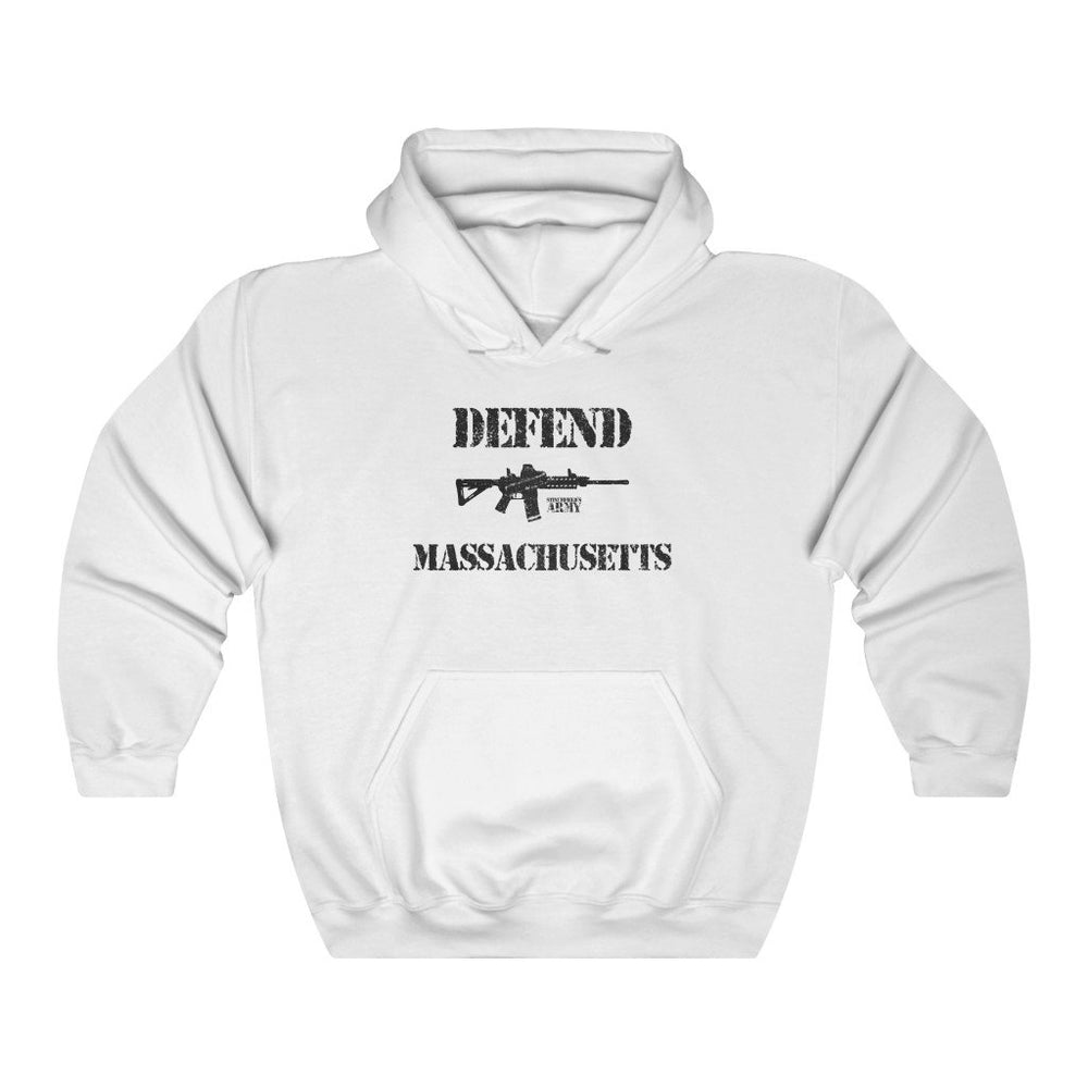 "Load image into Gallery viewer, ""Defend Massachusetts"" Women's Hoodie"