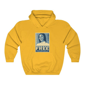 "Load image into Gallery viewer, ""Free Yourself"" Women's Hoodie/Sweatshirt"