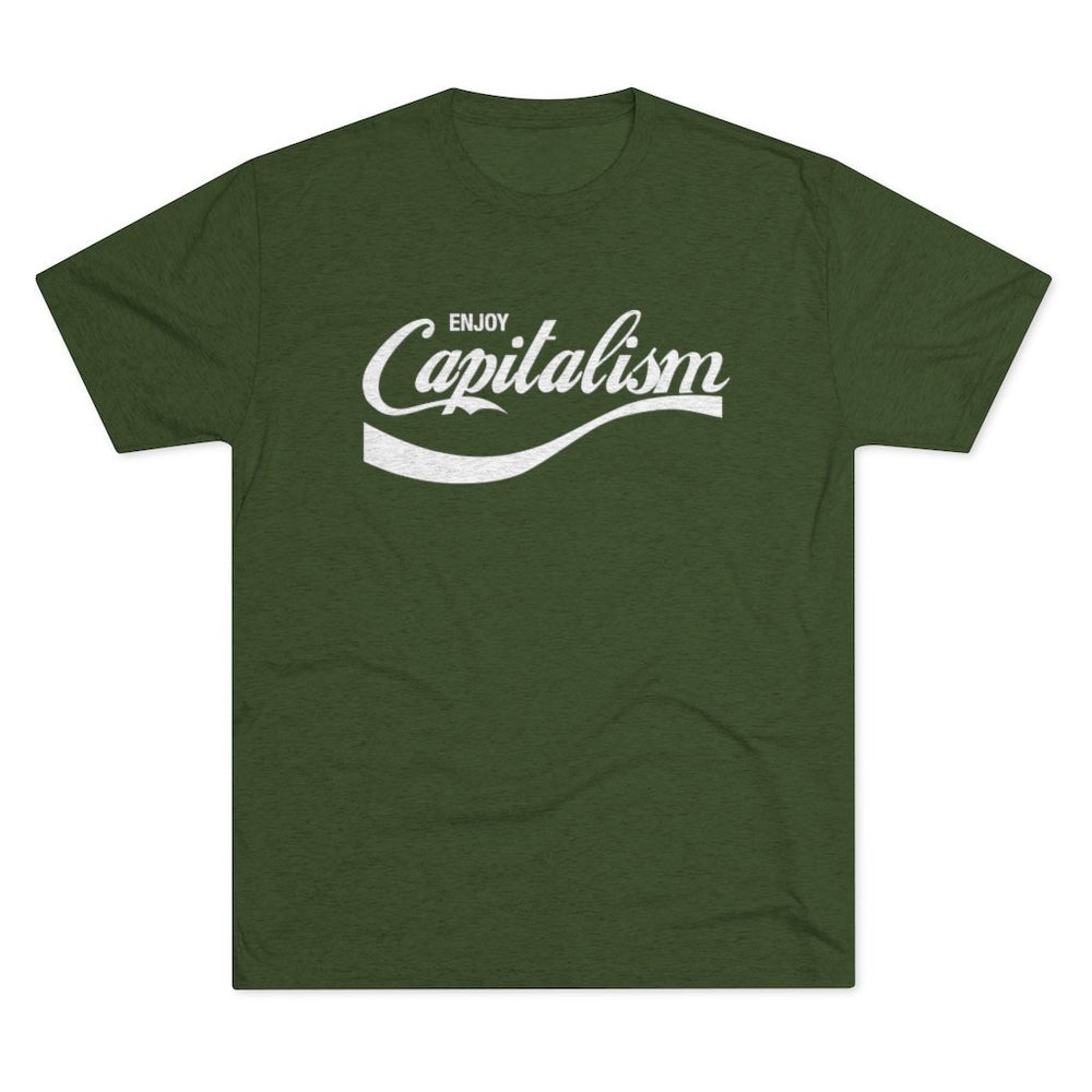 """Enjoy Capitalism"" Men's T-Shirt"