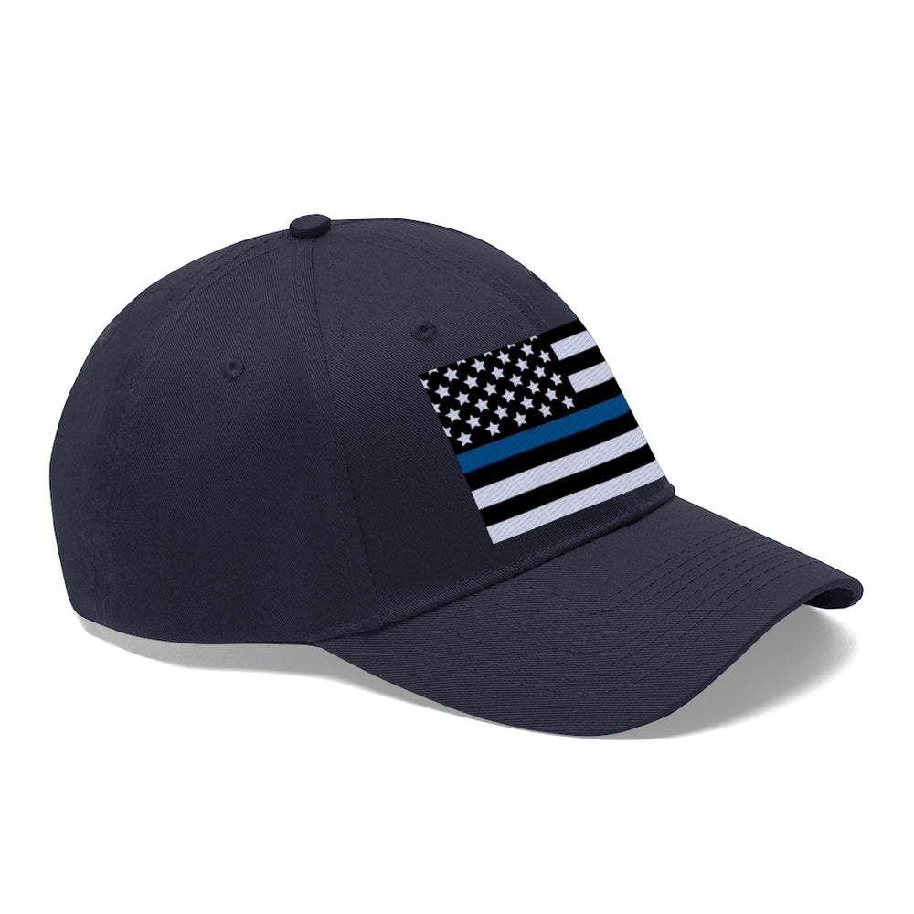 "Load image into Gallery viewer, ""Back The Blue"" Baseball Hat"