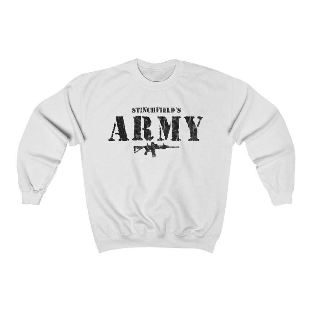 "Load image into Gallery viewer, ""Stinchfield's Army AR-15"" Men's Crewneck Sweatshirt"