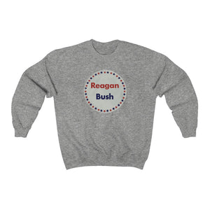"Reagan & Bush '80"" Men's Crewneck Sweatshirt"