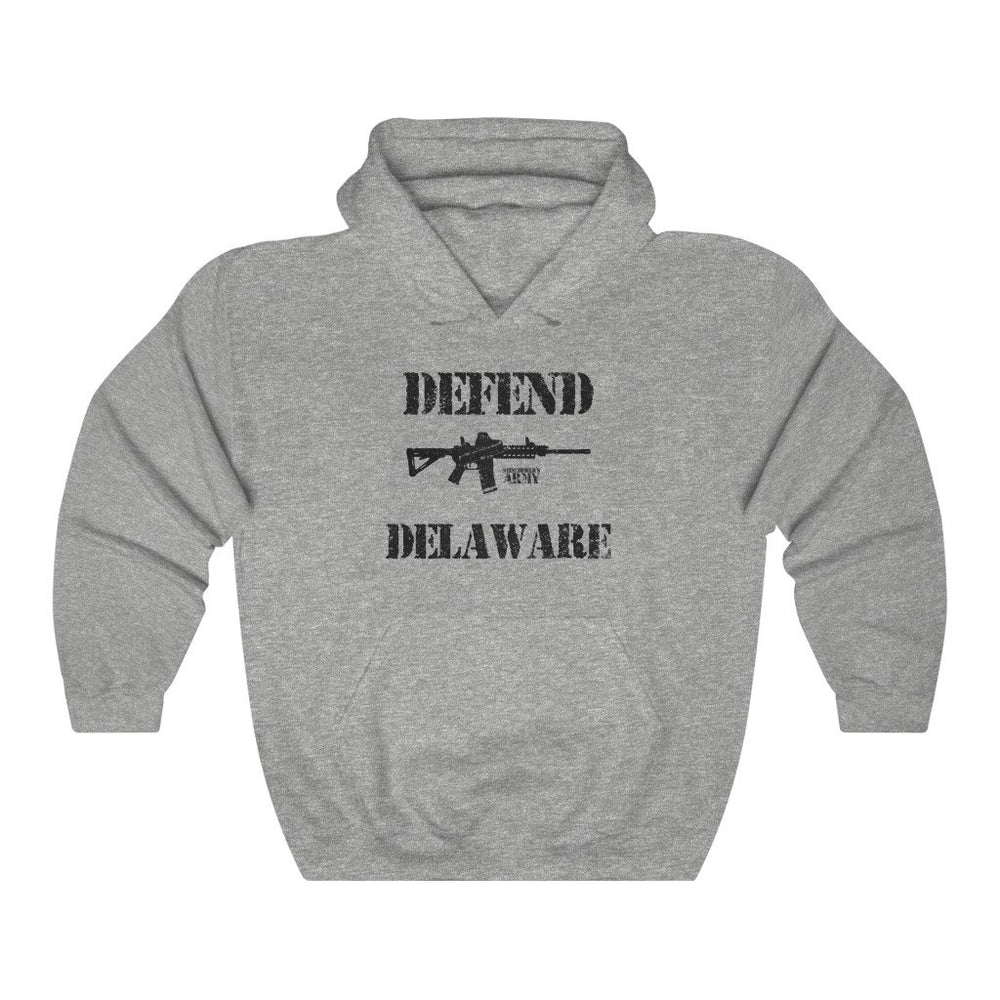 "Load image into Gallery viewer, ""Defend Delaware"" Women's Hoodie"