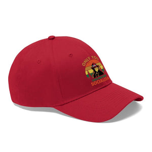 """Only You Can Prevent Socialism"" Baseball Hat"