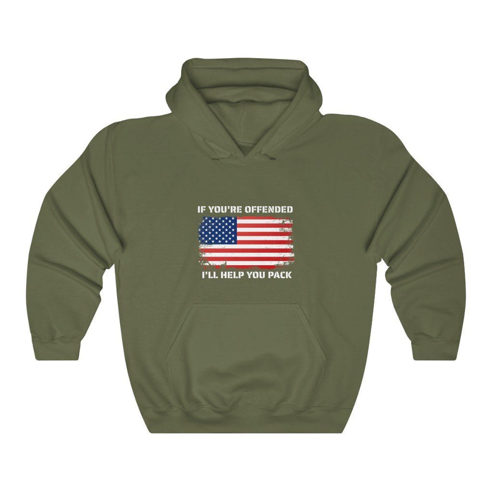 """If You're Offended"" Women's Hoodie"