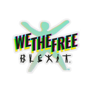 "Load image into Gallery viewer, ""We The Free"" Sticker"