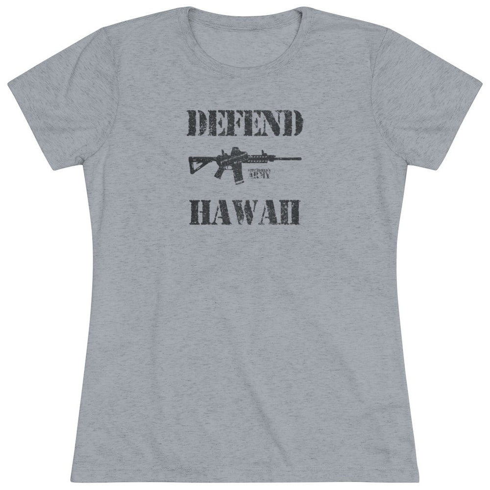 "Load image into Gallery viewer, ""Defend Hawaii"" Women's T-Shirt"
