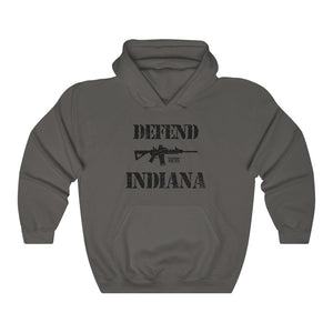 "Load image into Gallery viewer, ""Defend Indiana"" Men's Hoodie"