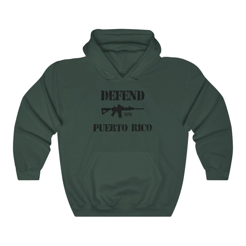 "Load image into Gallery viewer, ""Defend Puerto Rico"" Women's Hoodie"