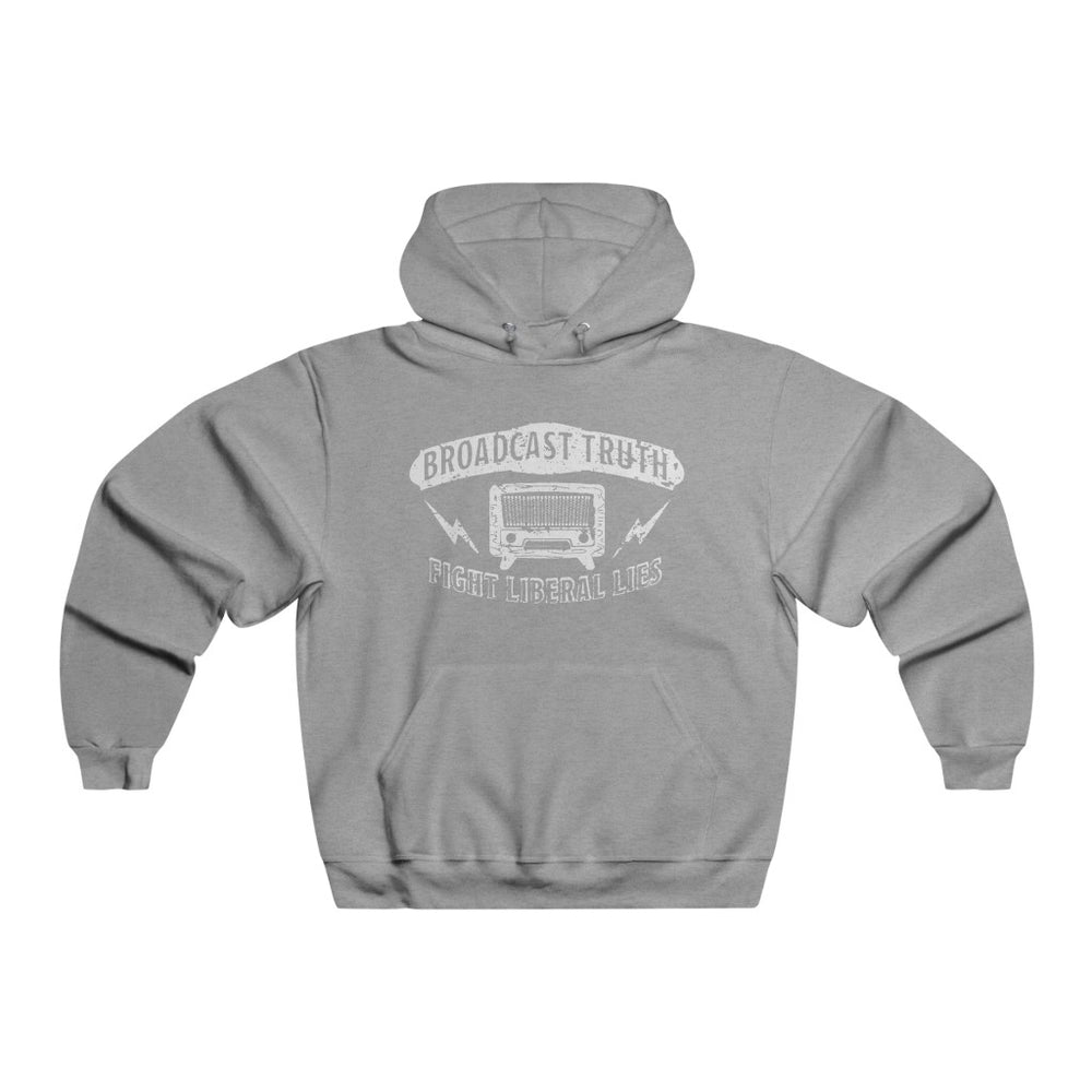 """Broadcast Truth"" Men's Hoodie/Sweatshirt"