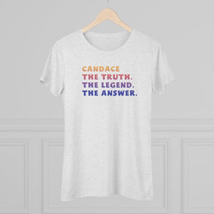 """The Answer"" Women's T-Shirt"