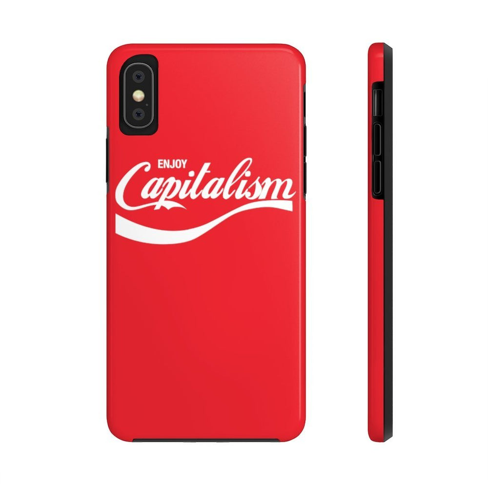 """Enjoy Capitalism"" iPhone Case"