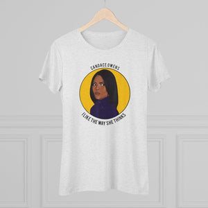 """I Like The Way Candace Thinks"" Women's T-Shirt"
