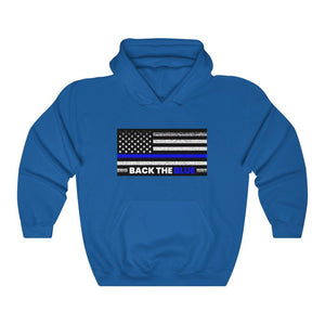 "Load image into Gallery viewer, ""Back The Blue"" Women's Hoodie/Sweatshirt"