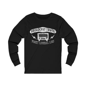 """Broadcast Truth"" Men's Long Sleeve Tee"
