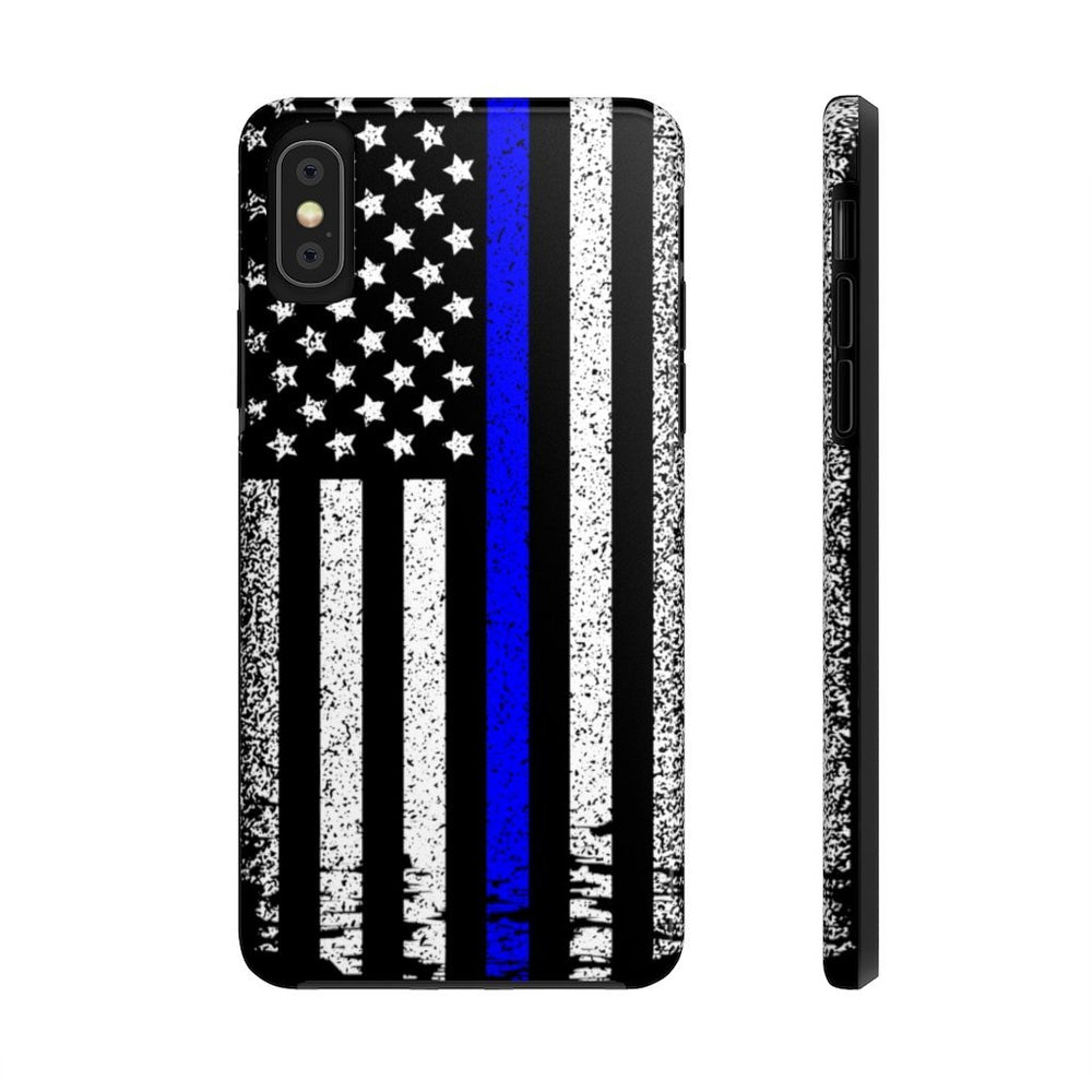 """Back The Blue"" iPhone Case"