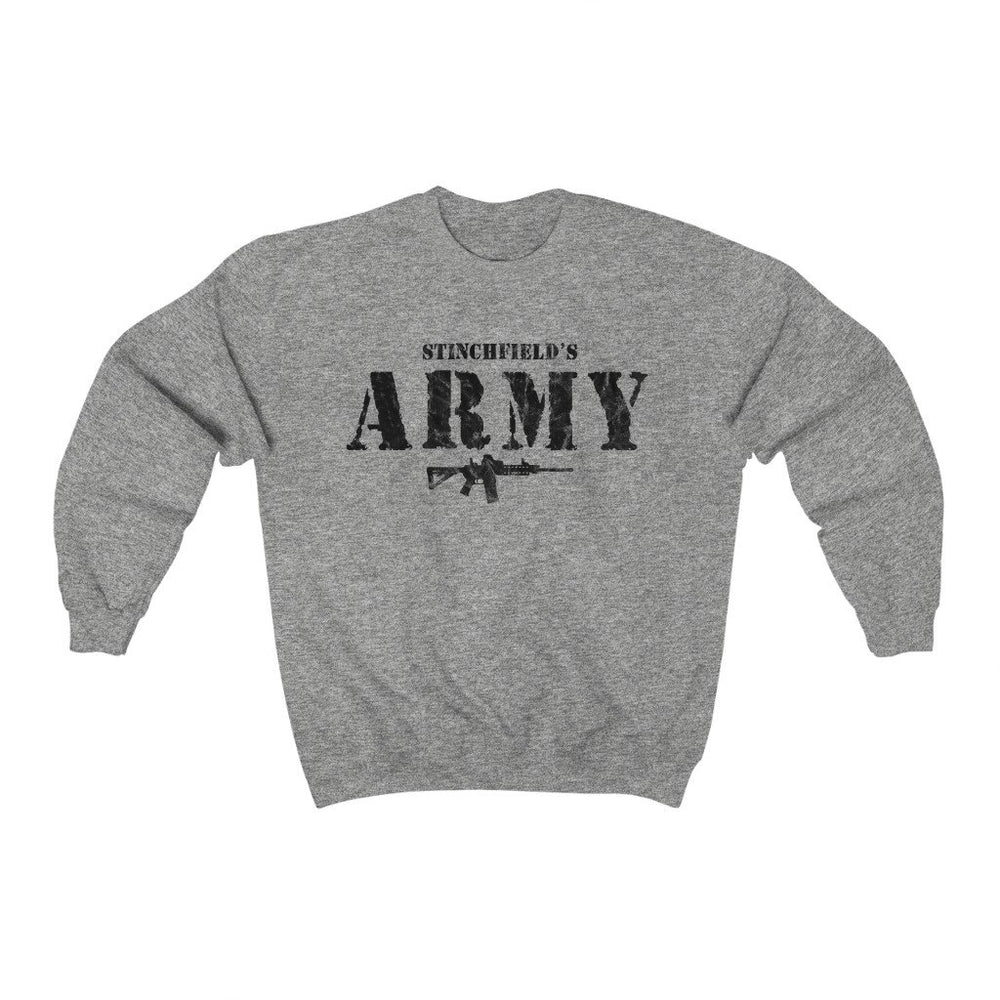 """Stinchfield's Army AR-15"" Men's Crewneck Sweatshirt"