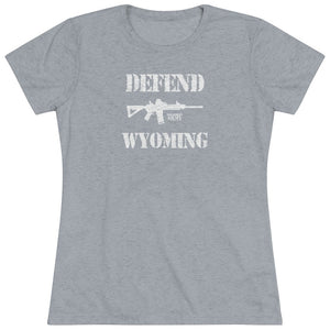 "Load image into Gallery viewer, ""Defend Wyoming"" Women's T-Shirt"