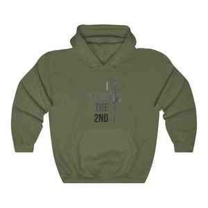 """I Plead the 2nd"" Men's Hoodie"