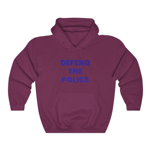 "Load image into Gallery viewer, ""Defend The Police"" Women's Hoodie/Sweatshirt"
