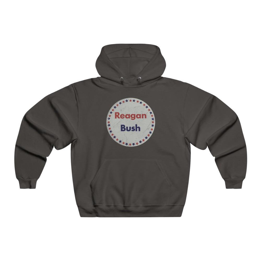 "Load image into Gallery viewer, ""Reagan & Bush '80"" Men's Hoodie/Sweatshirt"
