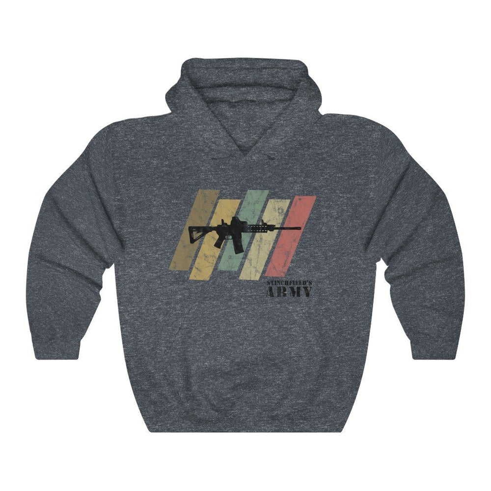 "Load image into Gallery viewer, ""Stinchfield's Army Retro"" Women's Hoodie"