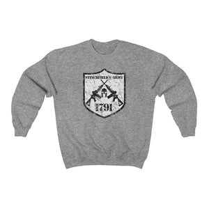 """Stinchfield's Army 1791"" Women's Crewneck Sweatshirt"
