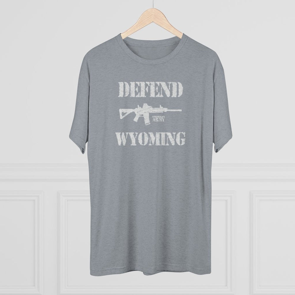 """Defend Wyoming"" Men's T-Shirt"