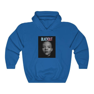 "Load image into Gallery viewer, ""BLACKOUT"" Women's Hoodie/Sweatshirt"