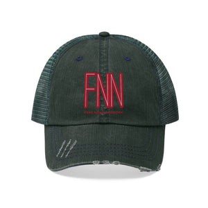 "Load image into Gallery viewer, ""Fake News Network"" Trucker Hat"