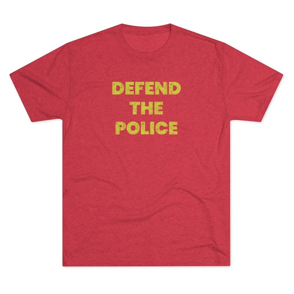 """Defend The Police"" Men's T-Shirt"