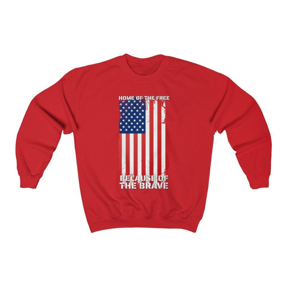 """Home of the Brave"" Women's Crewneck Sweatshirt"