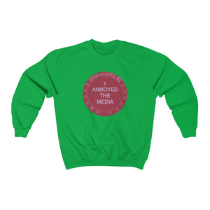 "Load image into Gallery viewer, ""I Annoyed the Media '92"" Men's Crewneck Sweatshirt"