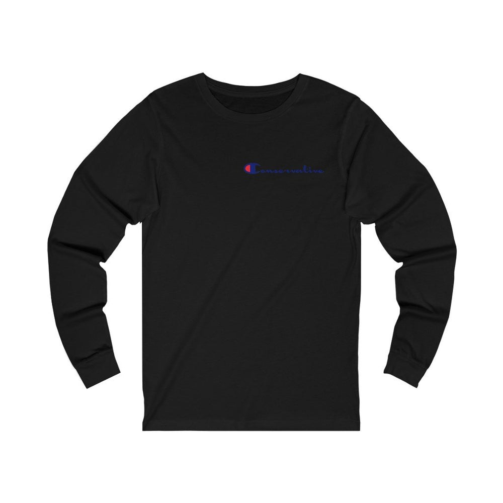"Load image into Gallery viewer, ""Conservative"" Men's Long Sleeve Tee"