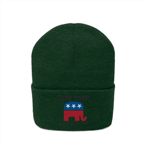 """I Am The Elephant In The Room"" Beanie"