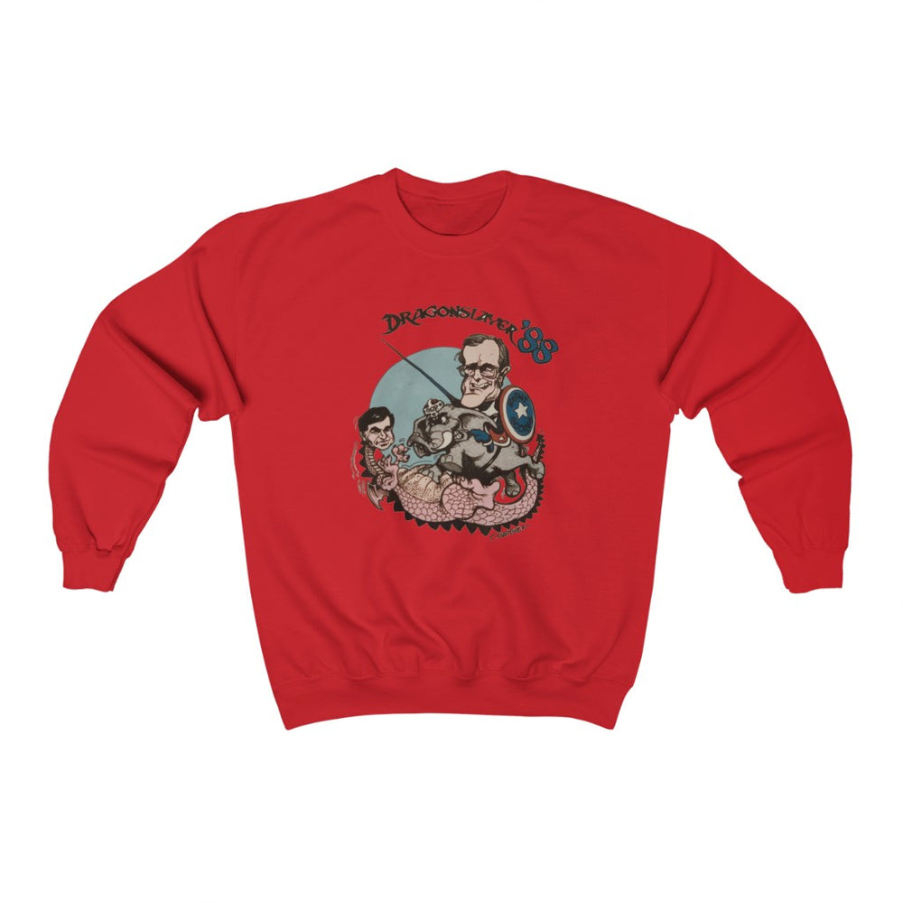 "Load image into Gallery viewer, ""Dragonslayer '88"" Women's Crewneck Sweatshirt"