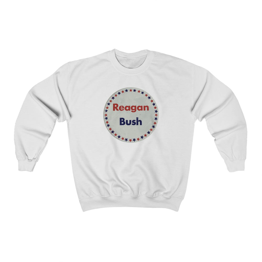 "Reagan & Bush '80"" Women's Crewneck Sweatshirt"