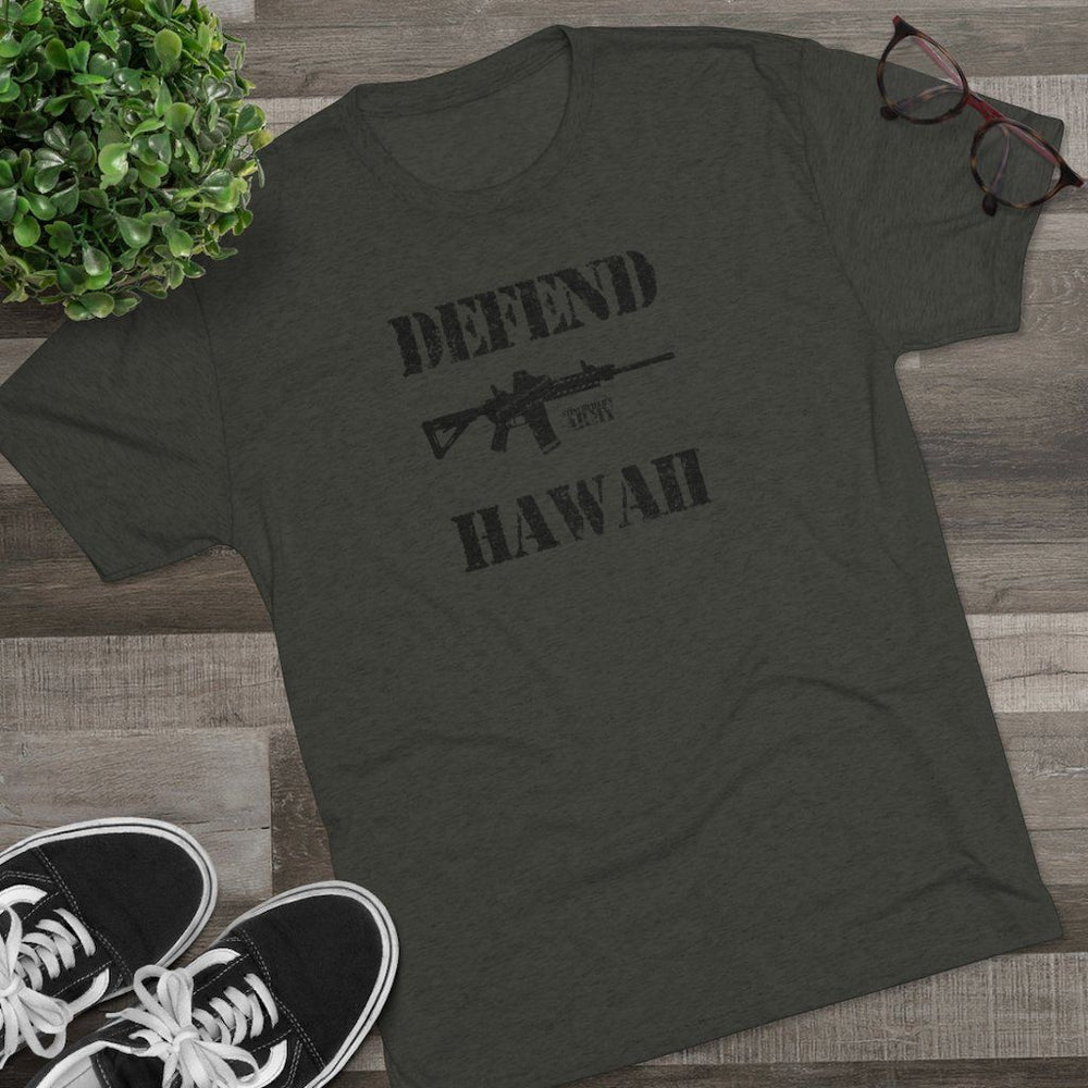 "Load image into Gallery viewer, ""Defend Hawaii"" Men's T-Shirt"