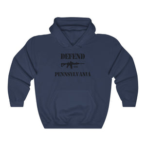 "Load image into Gallery viewer, ""Defend Pennsylvania"" Men's Hoodie"