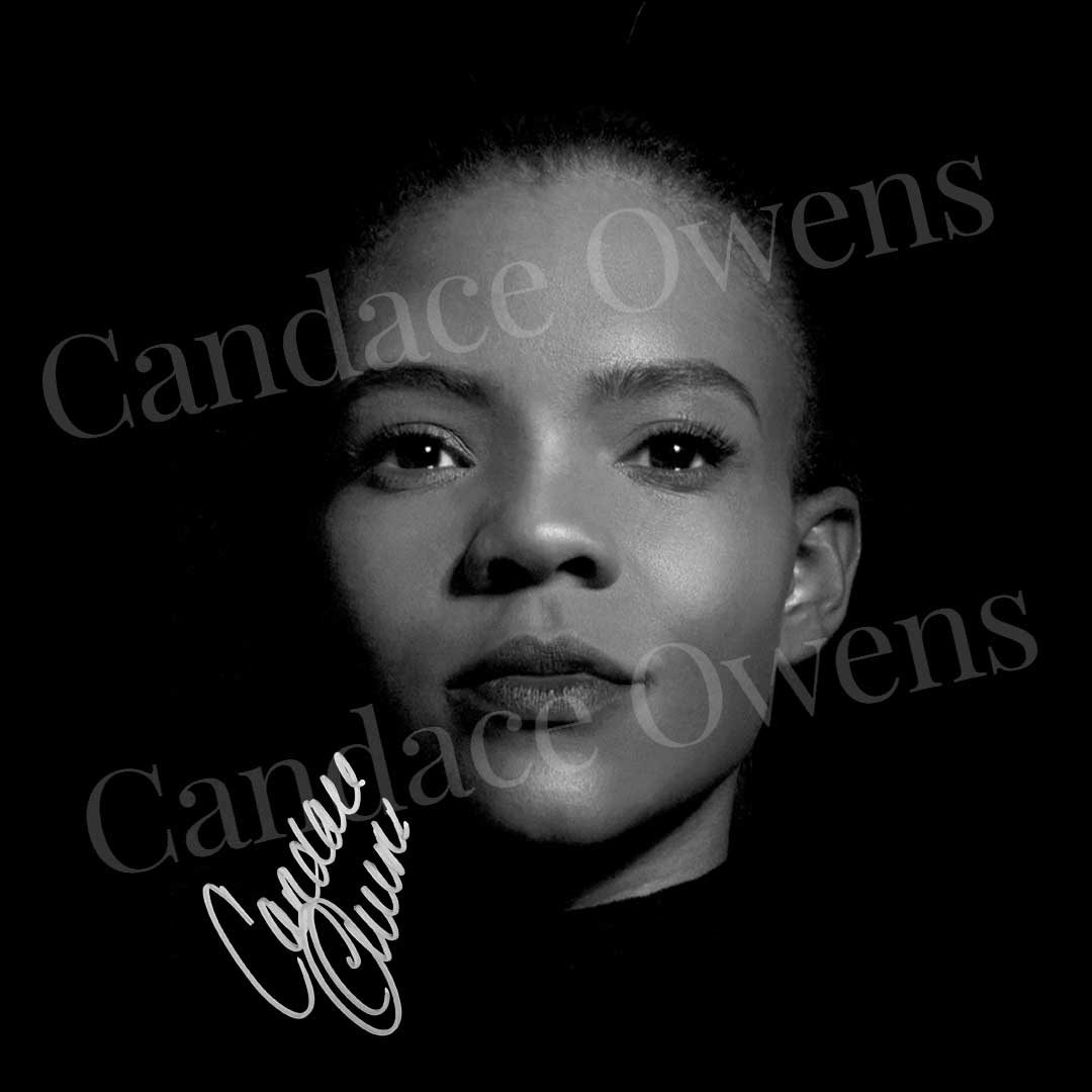 Candace Owens Autographed Sticker