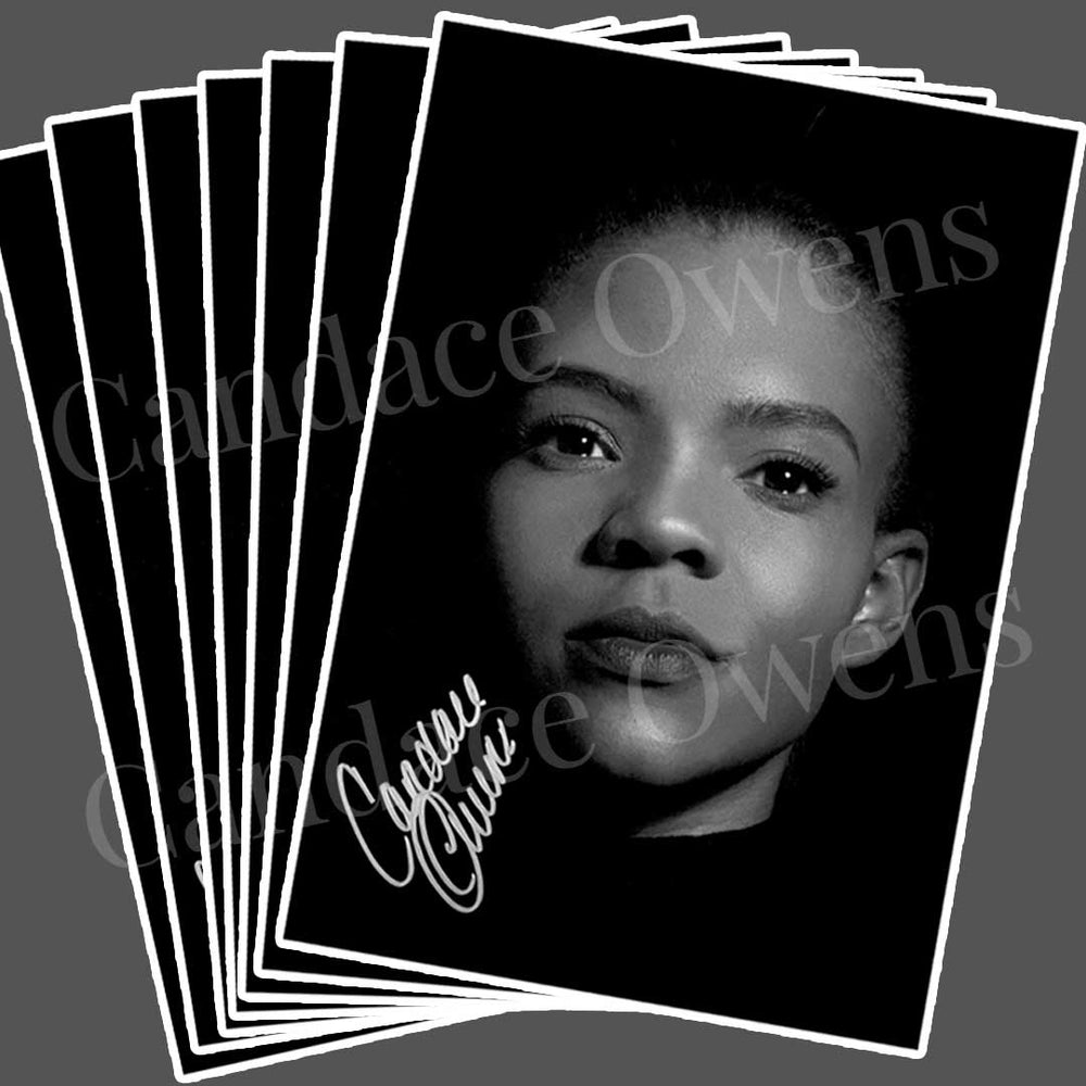 Load image into Gallery viewer, Candace Owens Autographed Sticker