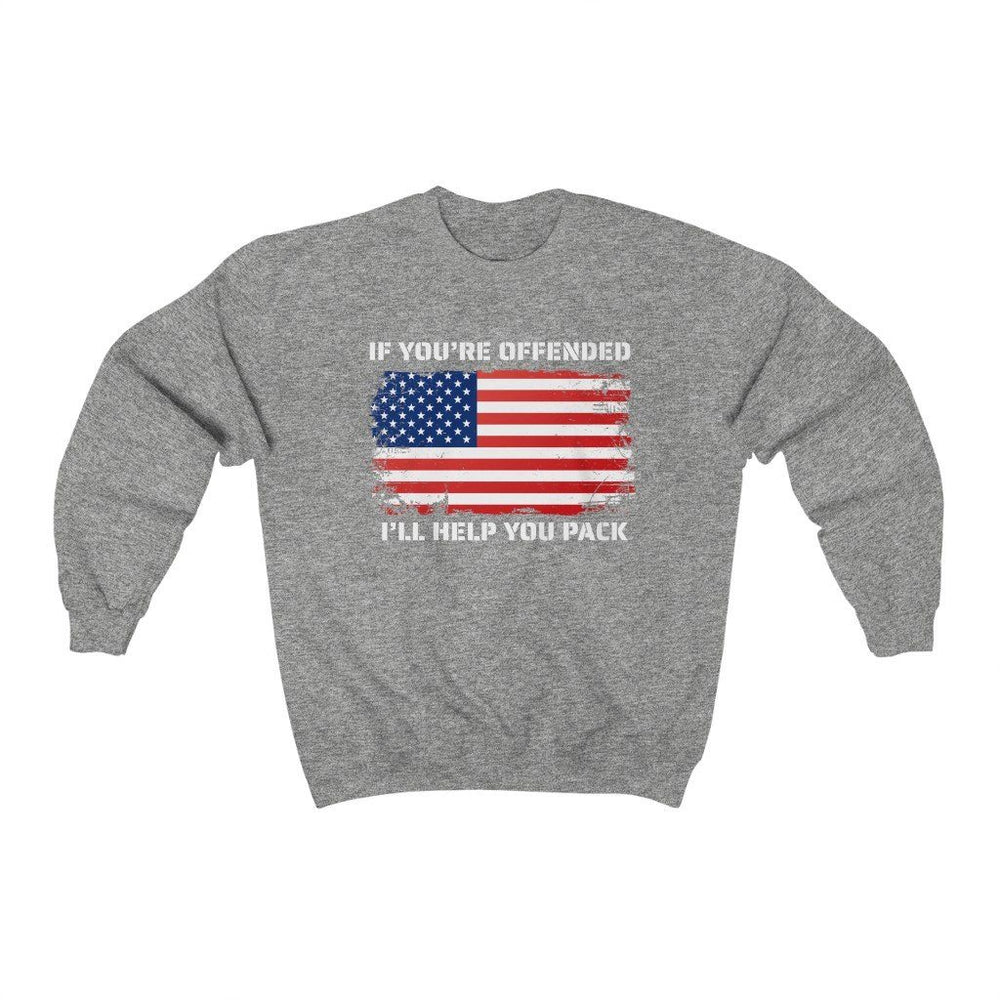 """If You're Offended"" Women's Crewneck Sweatshirt"