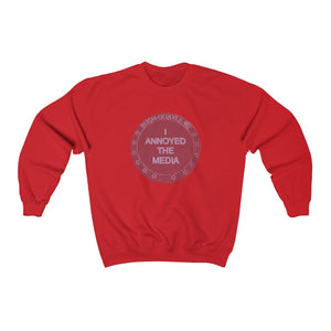 """I Annoyed the Media '92"" Men's Crewneck Sweatshirt"