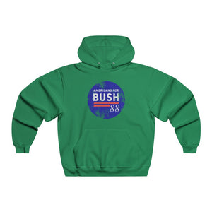 """Americans for Bush '88"" Men's Hoodie/Sweatshirt"
