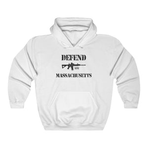 """Defend Massachusetts"" Men's Hoodie"