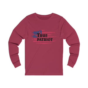 "Load image into Gallery viewer, ""True Patriot"" Women's Long Sleeve Tee"