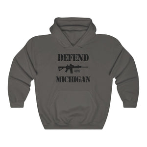 """Defend Michigan"" Men's Hoodie"