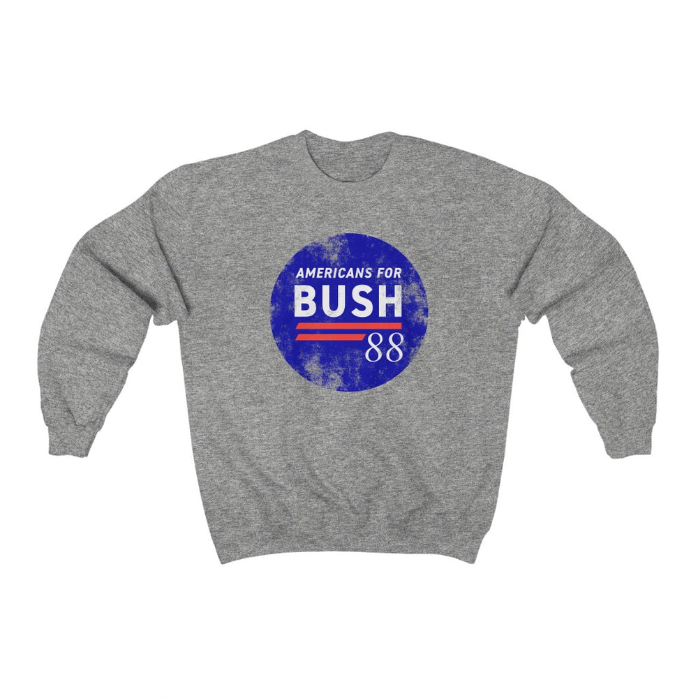 """Americans for Bush '88"" Men's Crewneck Sweatshirt"