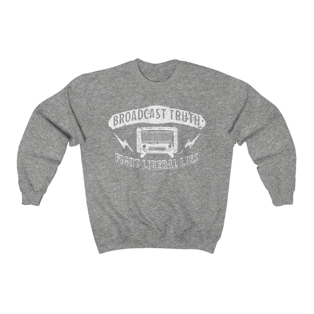 """Broadcast Truth"" Women's Crewneck Sweatshirt"