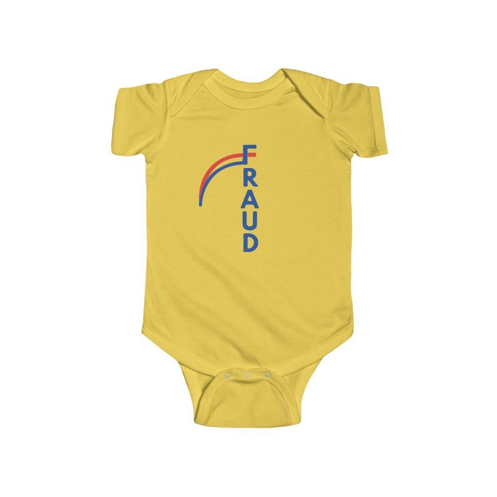 """FRAUD"" Infant Onesie"